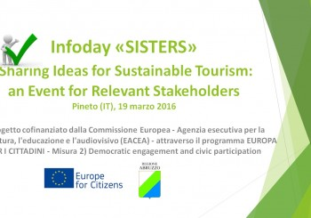 Progetto SISTERS: primo infoday