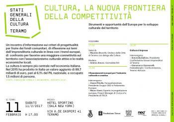 Cultura: la nuova frontiera della competitività